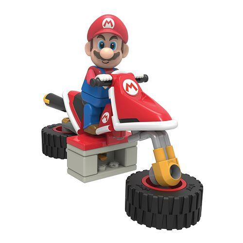 Mario Kart 8 Mario Bike Building Set by K'Nex