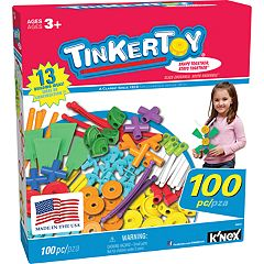 Tinkertoy 100-Piece Essentials Value Set