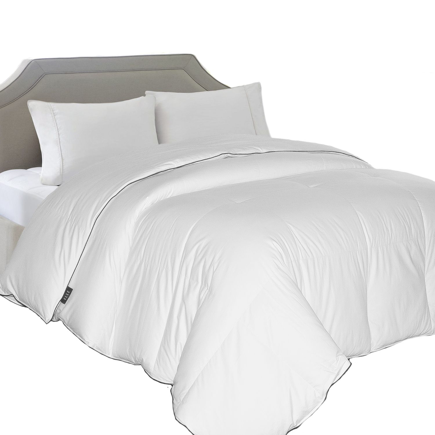 thread count down comforter