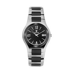 Croton Men's Tungsten & Ceramic Watch