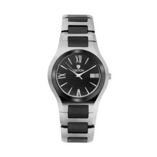 Croton Men's Tungsten & Ceramic Watch