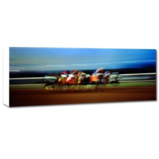 ''Finish Line'' Canvas Wall Art