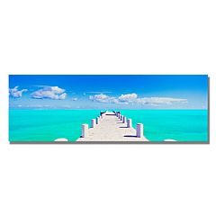 ''Turks Pier'' Canvas Wall Art