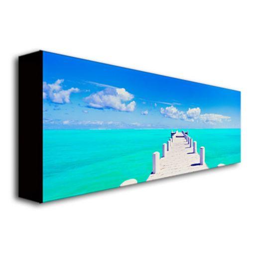 ''Turks Pier'' Canvas Wall Art