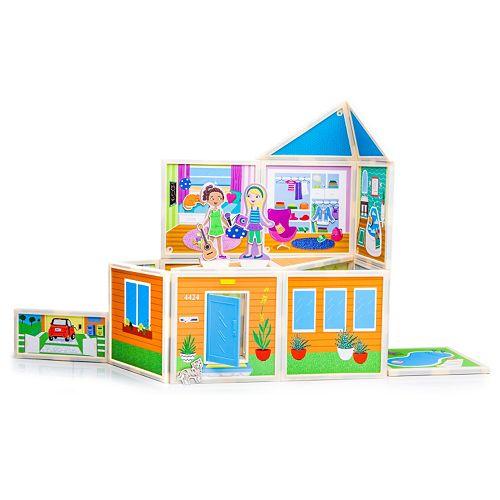 Build & Imagine Malia's Beach House Playset