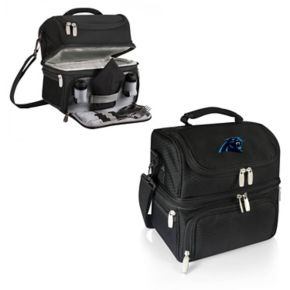 Picnic Time Carolina Panthers Pranzo 7-Piece Insulated Cooler Lunch Tote Set