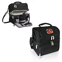 Picnic Time Cincinnati Bengals Pranzo 7 pc Insulated Cooler Lunch Tote Set