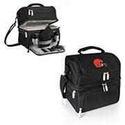 Picnic Time Cleveland Browns Pranzo 7 pc Insulated Cooler Lunch Tote Set