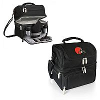 Picnic Time Cleveland Browns Pranzo 7-Piece Insulated Cooler Lunch Tote Set