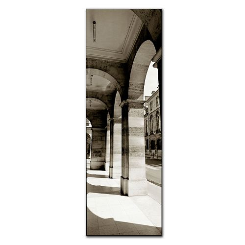 ''Parisian Archway'' Canvas Wall Art
