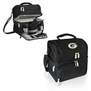 Picnic Time Green Bay Packers Pranzo 7 pc Insulated Cooler Lunch Tote Set