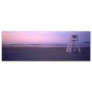 ''Beach Chair'' Canvas Wall Art