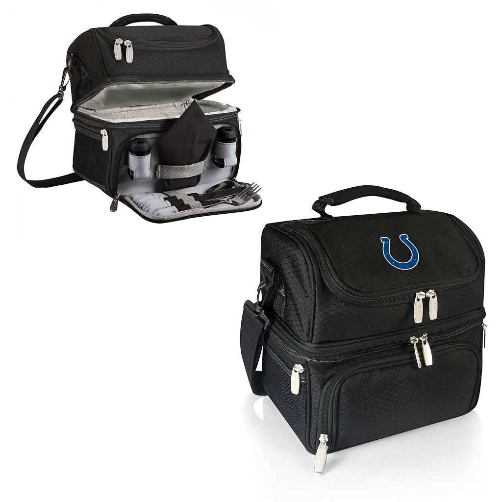 Picnic Time Indianapolis Colts Pranzo 7-Piece Insulated Cooler Lunch Tote Set