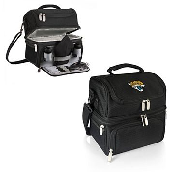 Picnic Time Jacksonville Jaguars Pranzo 7-Piece Insulated Cooler Lunch Tote Set