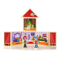 Build & Imagine Fairytale Theater Playset by