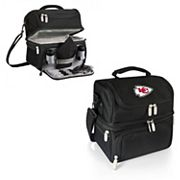 Picnic Time Kansas City Chiefs Pranzo 7 pc Insulated Cooler Lunch Tote Set