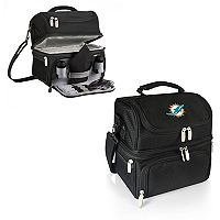 Picnic Time Miami Dolphins Pranzo 7 pc Insulated Cooler Lunch Tote Set