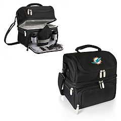 Picnic Time Miami Dolphins Pranzo 7-Piece Insulated Cooler Lunch Tote Set