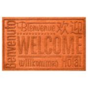WaterGuard Worldwide Welcome Indoor Outdoor Mat - 24'' x 36''