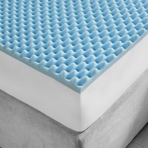 Gel Memory Foam 5 Zone Mattress Topper 2