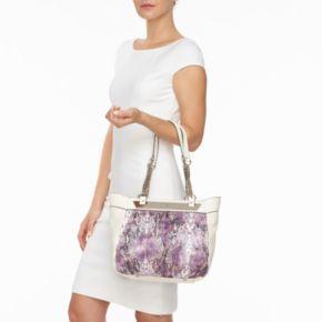 Jennifer Lopez Lisbeth Snakeskin Shopper