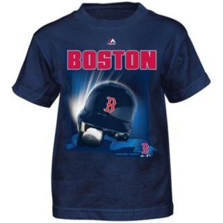 Boys 4-7 Majestic Boston Red Sox Helmet Tee