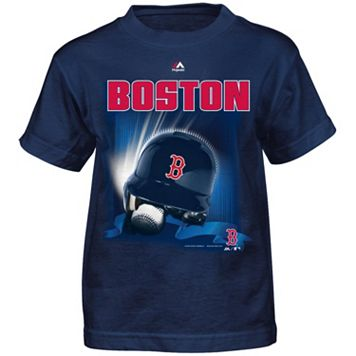 Boys 4-7 Majestic Boston Red Sox Helmet Tee