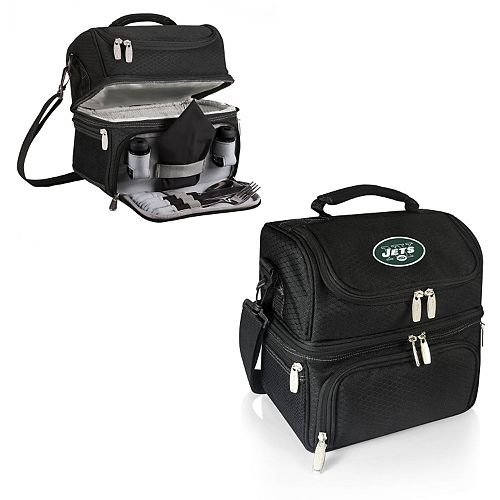 Picnic Time New York Jets Pranzo 7-Piece Insulated Cooler Lunch Tote Set