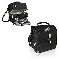 Picnic Time Philadelphia Eagles Pranzo 7 pc Insulated Cooler Lunch Tote Set