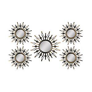 Lansbury Decorative Wall Mirror 3 Piece Set