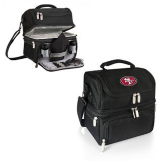 Picnic Time San Francisco 49ers Pranzo 7-Piece Insulated Cooler Lunch Tote Set