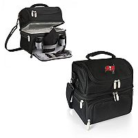 Picnic Time Tampa Bay Buccaneers Pranzo 7 pc Insulated Cooler Lunch Tote Set