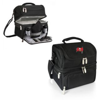 Picnic Time Tampa Bay Buccaneers Pranzo 7-Piece Insulated Cooler Lunch Tote Set