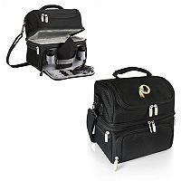 Picnic Time Washington Redskins Pranzo 7-Piece Insulated Cooler Lunch Tote Set