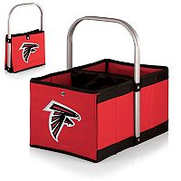 Picnic Time Atlanta Falcons Urban Folding Picnic Basket