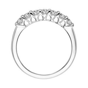 Simply Vera Vera Wang 14k White Gold 1/3 Carat T.W. Diamond Wedding Band