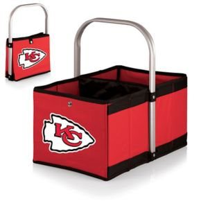 Picnic Time Kansas City Chiefs Red Urban Folding Picnic Basket
