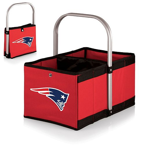 Picnic Time New England Patriots Red Urban Folding Picnic Basket