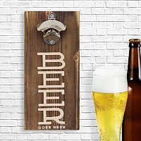 Stratton Home Decor Bottle Opener Wall Art