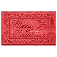 WaterGuard Holiday Collection Merry Christmas Indoor Outdoor Mat - 24'' x 36''