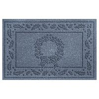 WaterGuard Holiday Collection Wreath Indoor Outdoor Mat - 24'' x 36''