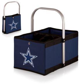 Picnic Time Dallas Cowboys Urban Folding Picnic Basket