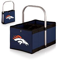 Picnic Time Denver Broncos Urban Folding Picnic Basket