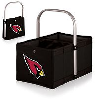 Picnic Time Arizona Cardinals Urban Folding Picnic Basket