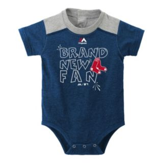Baby Majestic Boston Red Sox Brand New Fan Bodysuit & Shorts Set