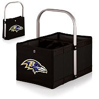 Picnic Time Baltimore Ravens Urban Folding Picnic Basket