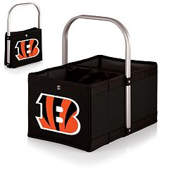 Picnic Time Cincinnati Bengals Urban Folding Picnic Basket