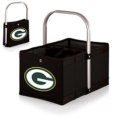 Picnic Time Green Bay Packers Urban Folding Picnic Basket