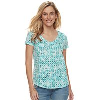 Women's SONOMA Goods for Life™ Slubbed V-Neck Tee
