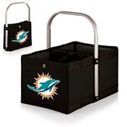 Picnic Time Miami Dolphins Urban Folding Picnic Basket